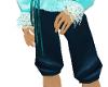 {LR}Blue Elegance Pants
