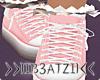 B! Pink Sneakers