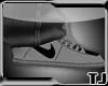 *205* Gray/Black Nikes