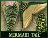 Mermaid Tail Ocre