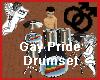 Gay Pride Drumset