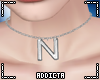 *A* N Letter Necklace