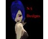 (NA) Blue Liye Hair