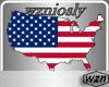 wzn USA FlagMap
