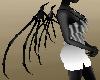 Black Skeleton Wings