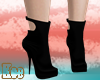 K| Simple Black Boots