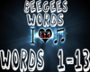 (LHC) Beegees - Words
