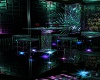 Neon Techno Bar Stool