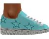 Teal Kicks Sneakers