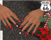 SD Santa Suit Nails