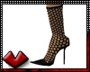 (V) Onyx Fishnet Pumps