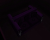 Purple Back2Back Couch