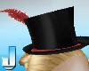 Burlesque Hat - Red