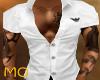 White Armani MuscleShirt