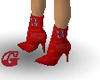 *G* Red Stiletto boot