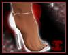 White Madison Heels
