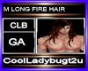 M LONG FIRE HAIR