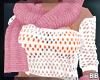 DeepPink Scarf & Glove