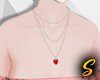 S! Strawberry Necklace