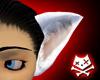 Lg White Neko Ears