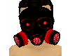LED RED Gas Mask