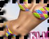 [KLL] Bkue Plaid Bikini