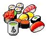Green Tea and Sushi