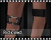 >R< HeartSet Anklets