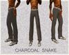 (CB) CHARCOAL SNAKE PANT