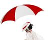 KP poppins umbrella kiss
