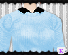 {K} Pastel Sweater Blue