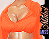 ! Sultry Blouse Orange