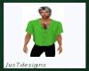 JT Tucked Short Green