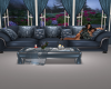 blue rose couch