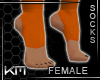 +KM+ Socks 2 Orange