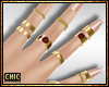 ck. Lavish Nails-Rings G
