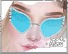 Blue Studded Glasses | F