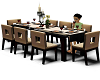 Family Table Animated 8P