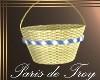 PdT Tan Wicker Basket