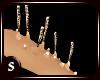 ~S~Mermaid Arm Spikes