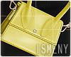 [Is] Mini Bag W - Yellow