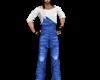 [i] Blue overalls M