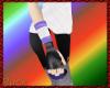 White/purple Wristband R