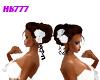 HB777 Wed Hair w/Roses