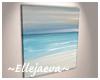 Abstract Beach Canvas