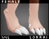lmL White Scaly Feet F