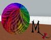 GIANT Rainbow Yarn! anm