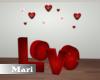 !M! Love Sign Decor