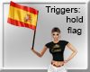 SPAIN BANDERA FLAG