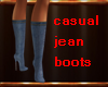 Casual Jean Boots